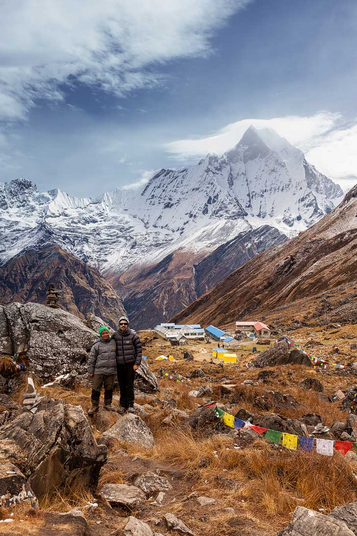 Trek to Annapurna Base Camp + 25 Great Treks of the World to Put on Your Bucket List (photo: ExtremeAmbient) // localadventurer.com