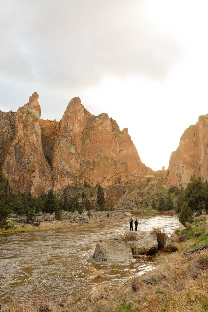 Smith Rock State Park Oregon - great place to go rock climbing. It's the birthplace of sport climbing in the US, but also offers great hikes with scenic views. See the ultimate guide to the park here // localadventurer.com