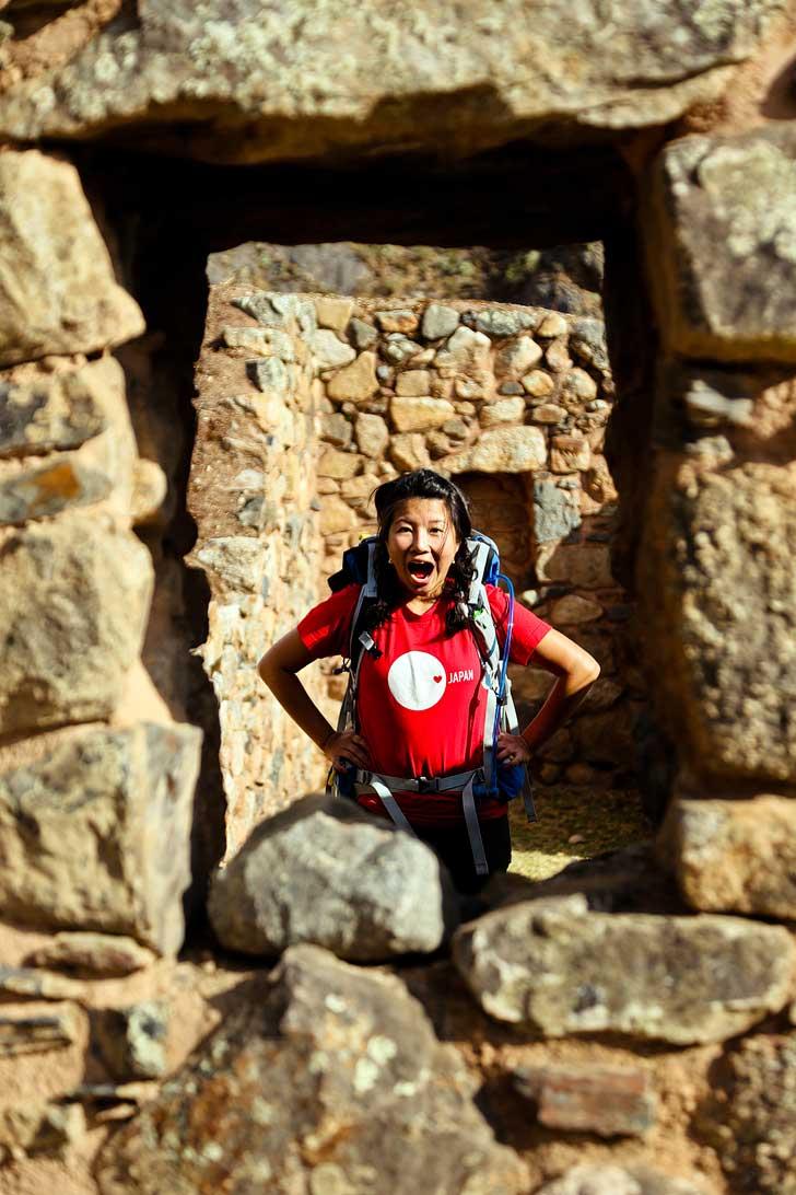 Inca Ruins on the Inka Trail // localadventurer.com
