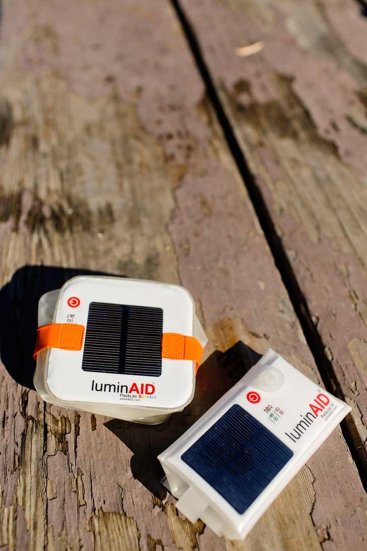 LuminAID - The solar powered lights we use for camping // localadventurer.com