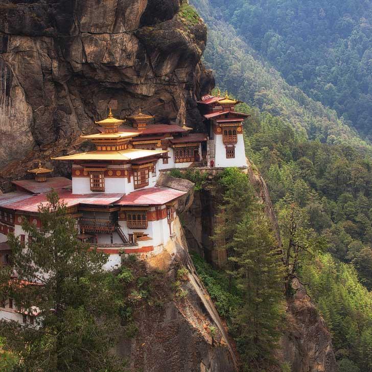 Tiger's Nest Temple, Druk Path Trek, Bhutan + 25 Best Hiking Trails in the World to Put on Your Bucket List (photo: Adam Brill) // localadventurer.com