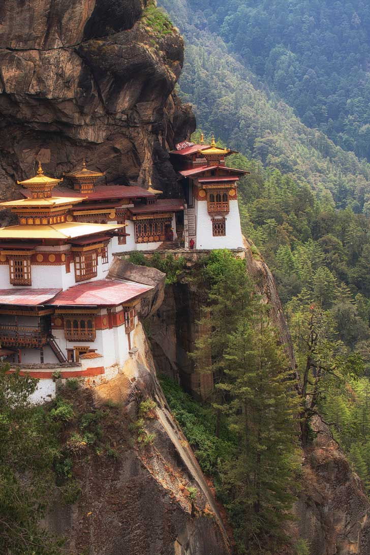 Tiger's Nest Temple, Druk Path Trek, Bhutan + 25 Best Hiking Trails in the World to Put on Your Bucket List (photo: Adam Brill) // localadventurer.com