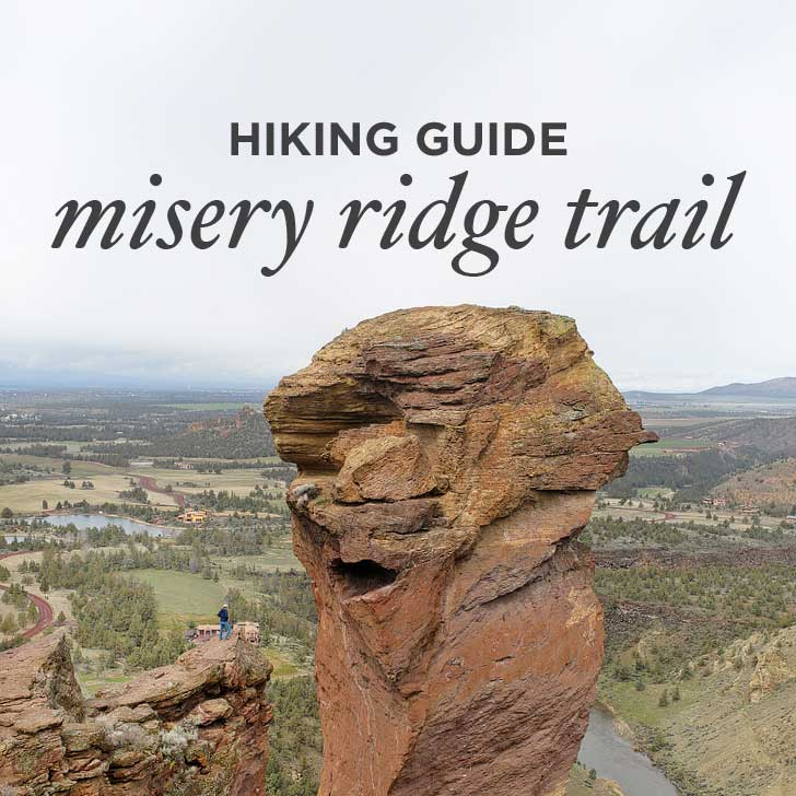 How to Hike the Misery Ridge Trail Smith Rock State Park