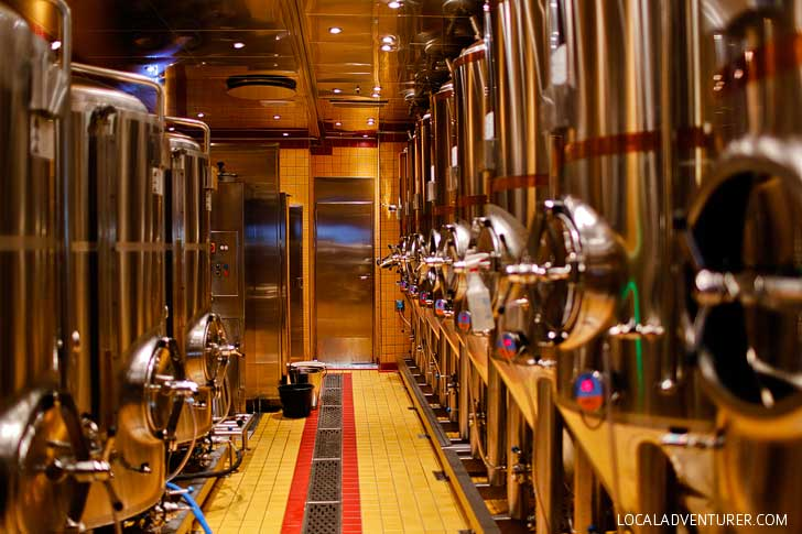 Red Frog Brewery Tour on the Carnival Vista Ship - Our First Brewery Tour on a Cruise // localadventurer.com