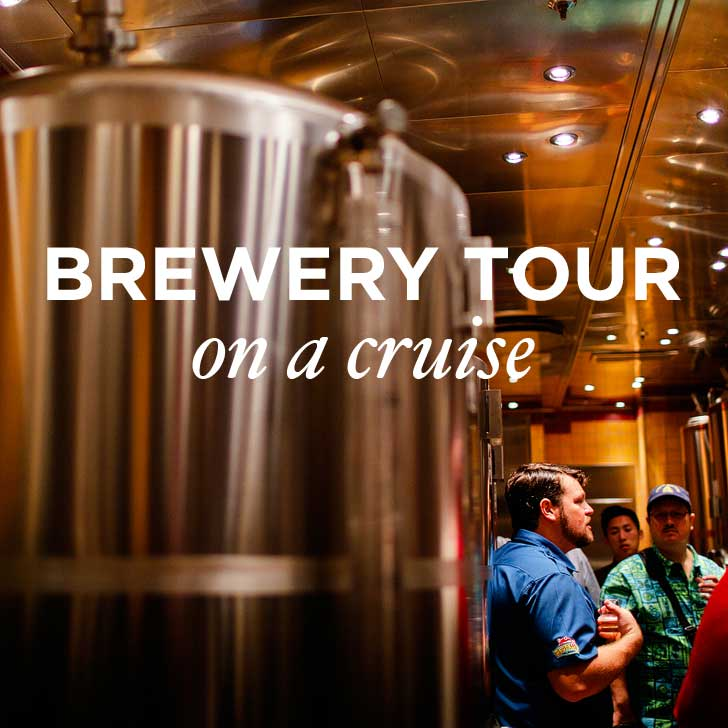 The First Brewery Tour on a Cruise – Red Frog Pub and Brewery