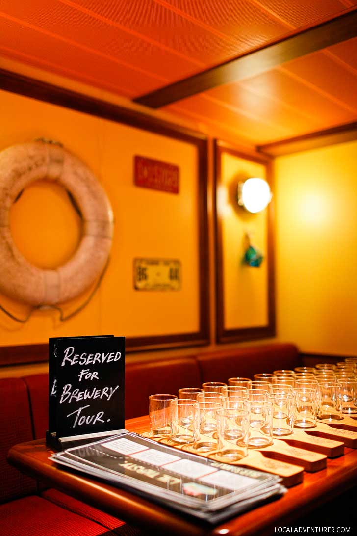 Our First Brewery Tour On A Cruise Red Frog Pub And Brewery