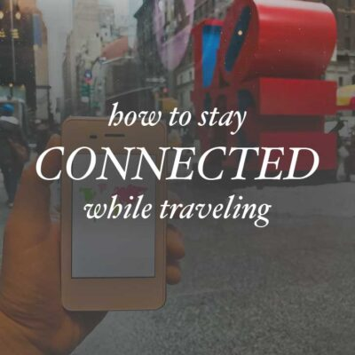 How to Stay Connected to the Internet while Traveling with RoamingMan // localadventurer.com