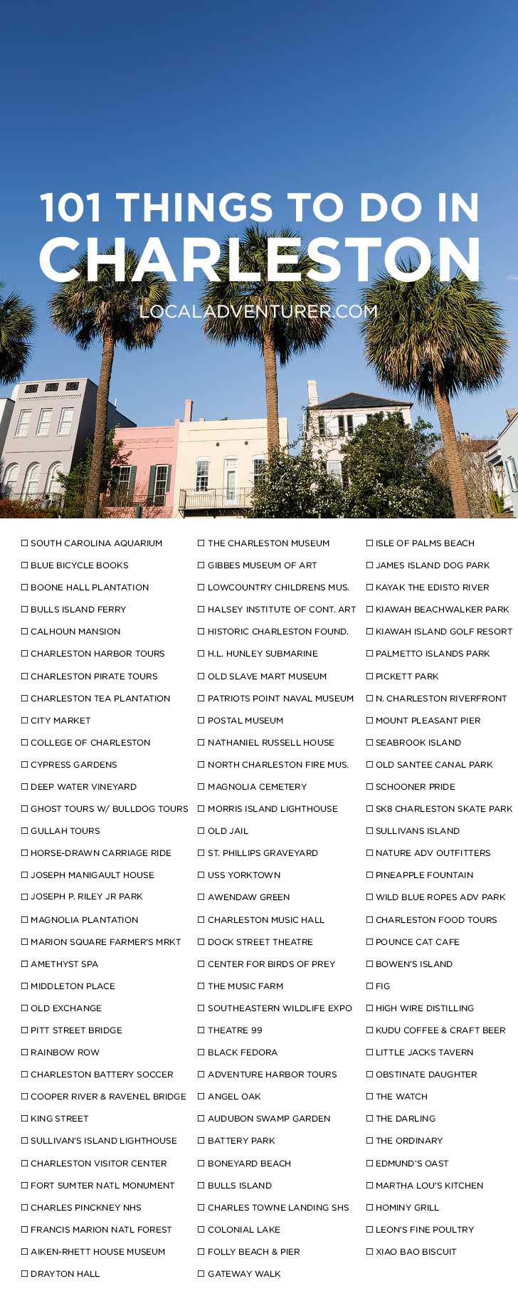 101 things to do in charleston sc bucket list let 39 s go for Things to do in charleston nc