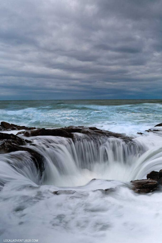 Thor's Well, Cape Perpetua Scenic Area + Your Ultimate Oregon Coast Guide // localadventurer.com
