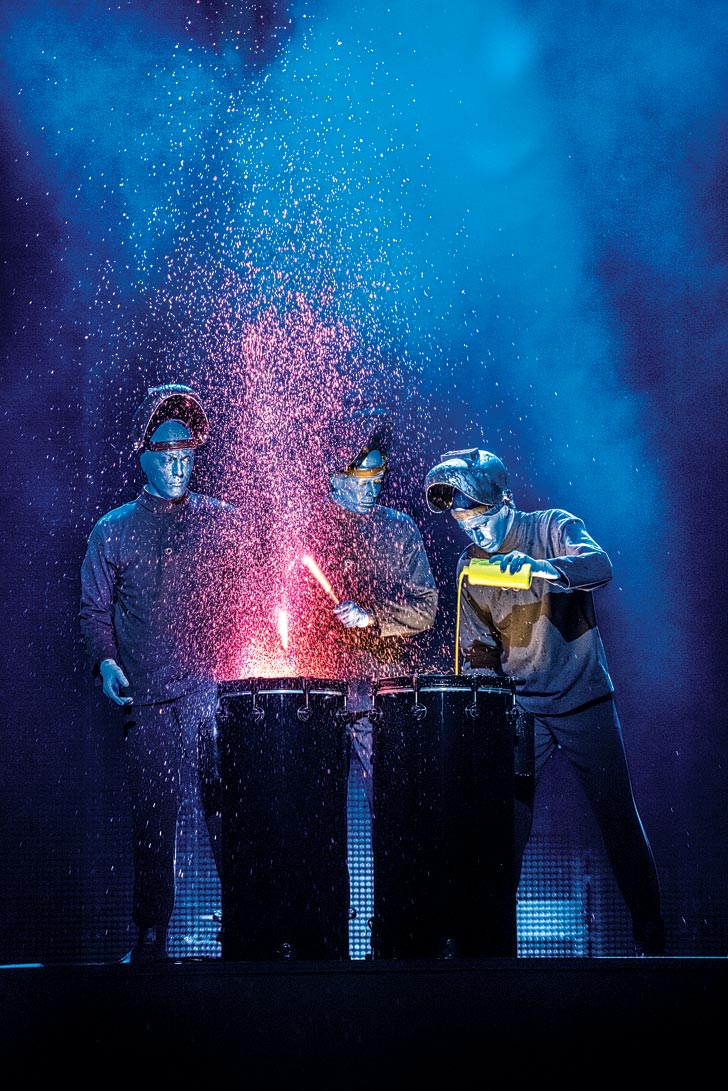 If you plan to attend the Behind-the-Blue Experience tour at Blue Man Group Las Vegas you must wear closed-toe shoes (no sandals). Vegas Locals 2-FOR-1 Tickets Buy tickets Blue Man Las Vegas Military Discount Buy tickets Disclaimer.
