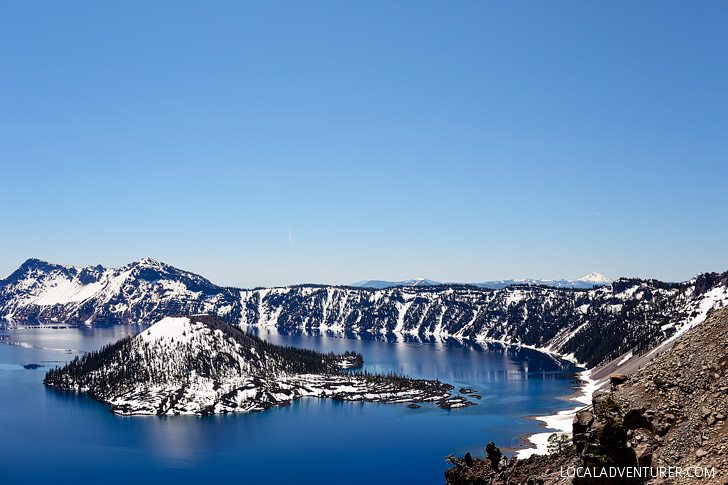 Crater Lake National Park and Mount Mazama + The Best Things to Do in Oregon // localadventurer.com