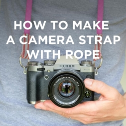 DIY Camera Strap with Climbing Rope Tutorial