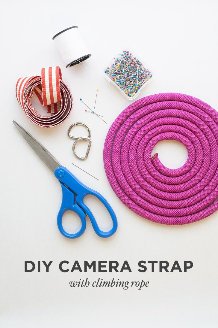 DIY Rope Camera Strap Tutorial // localadventurer.com