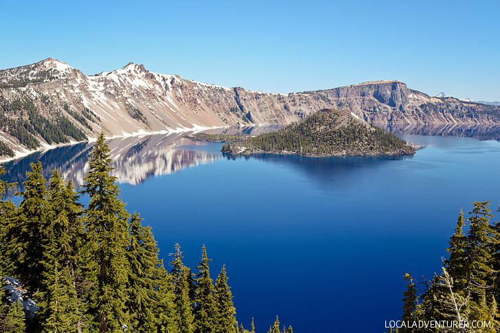 Hiking Crater Lake National Park // localadventurer.com