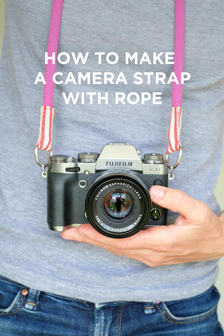 How to Make a Camera Strap with Climbing Rope // localadventurer.com