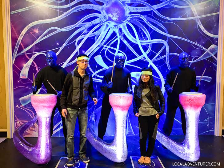 The Blue Man Group Las Vegas Show + Enter to Win Free Tickets // localadventurer.com