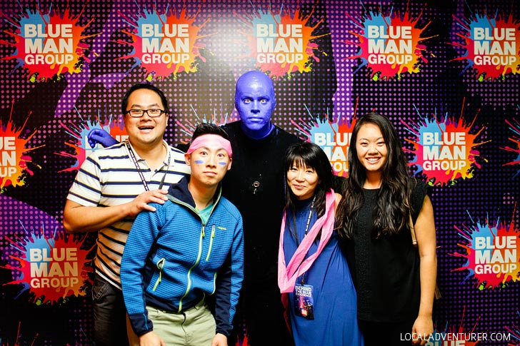 The Blue Man Group Las Vegas + Enter to Win Free Tickets // localadventurer.com