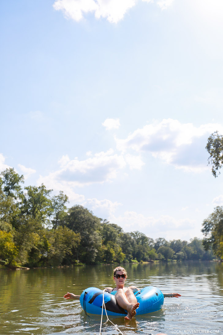Tube the Hooch + Best Things to Do in Atlanta - River Tubing Near Me at Chattanooga Tubing // localadventurer.com