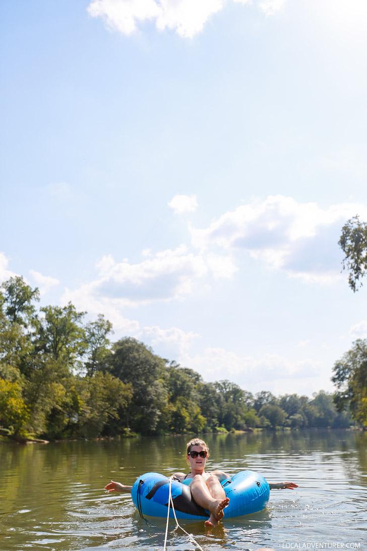 Tube the Hooch + Best Things to Do in Atlanta // localadventurer.com