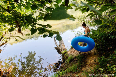 Tubing in Georgia + Everything You Need to Know About Shooting the Hooch // localadventurer.com