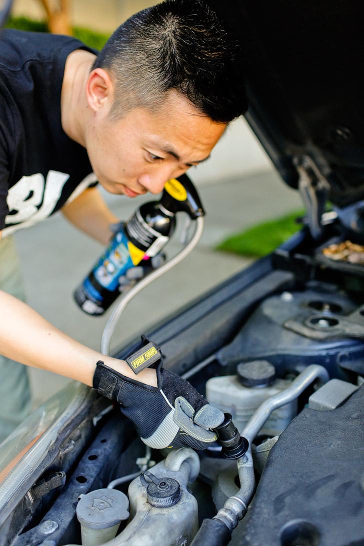 How to Fix Your Car AC - an Easy DIY Solution // localadventurer.com