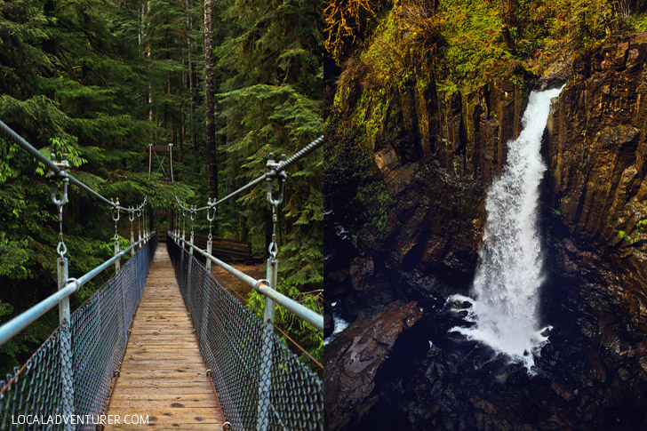 Drift Creek Falls - Oregon Hikes, Lincoln City, Oregon Coast