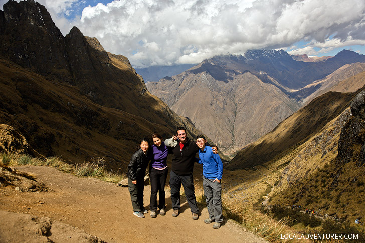 Dead Womans Pass - The Highest Point Inca Trail Day 2 // localadventurer.com