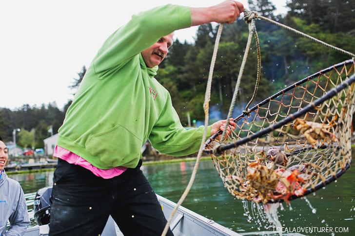 Kellys Marina Nehalem Bay Crabbing // localadventurer.com