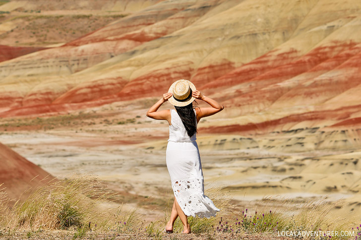 Painted Hills Overlook Trail - one of the 7 Wonders of Oregon // localadventurer.com