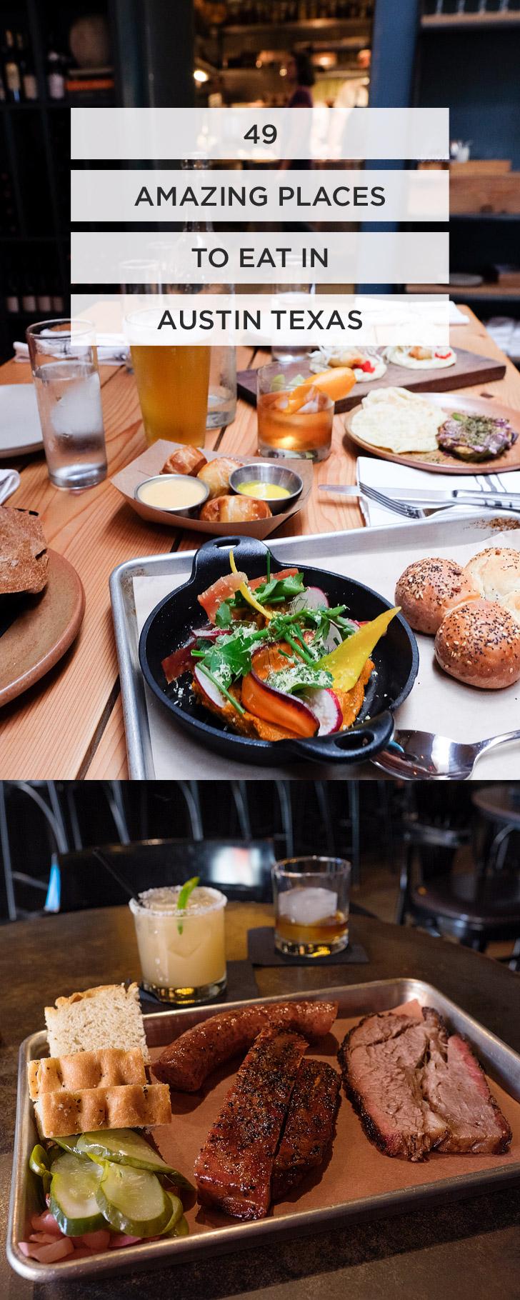 49 Best Places to Eat in Austin Texas // localadventurer.com