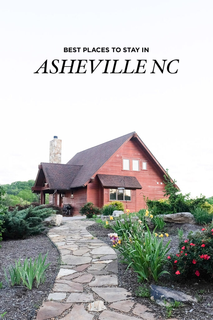 The Best Places to Stay in Asheville North Carolina - Cool Places to Stay in Asheville + Cabins in Asheville - Asheville NC Hotels // localadventurer.com