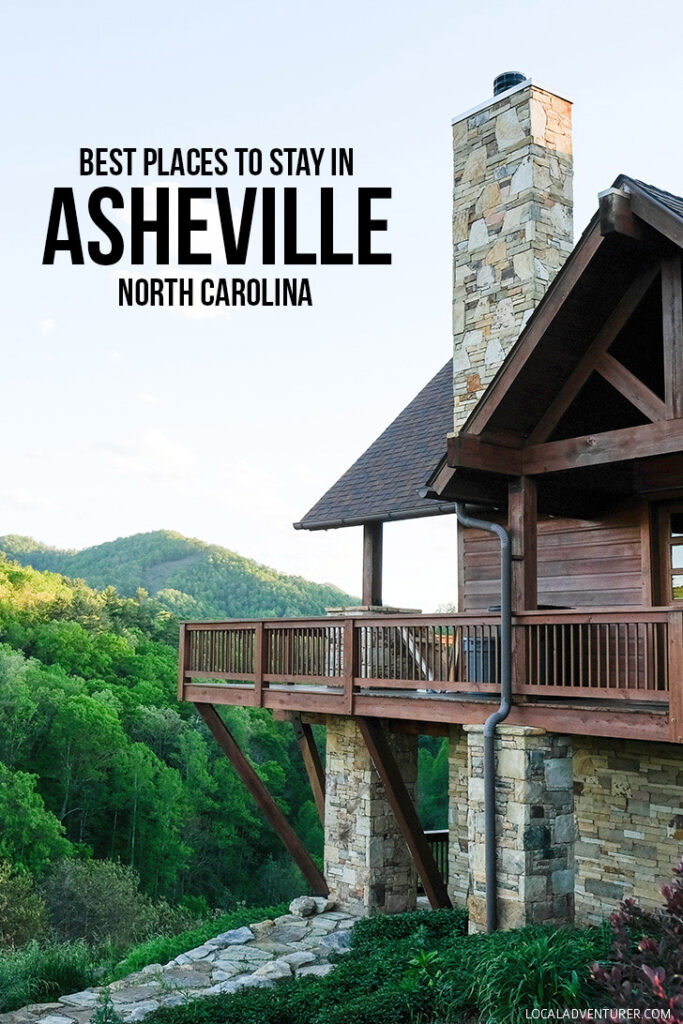 Where to Stay in Asheville North Carolina - from luxury to glamping and budget options - Asheville Hotels + Asheville Biltmore // localadventurer.com