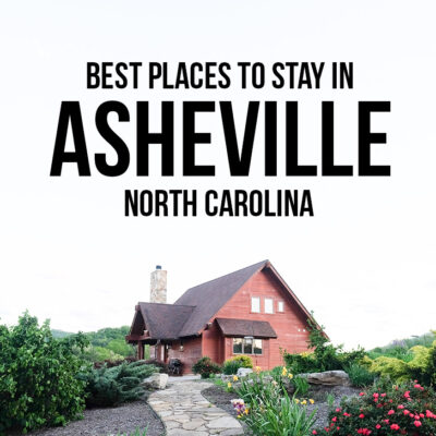 Amazing Places to Stay in Asheville North Carolina - from luxury to glamping and budget options // localadventurer.com