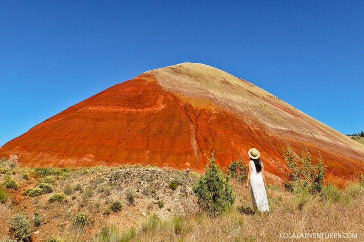 Red Scar Knoll Trail + Best Hikes in the Painted Hills Oregon // localadventurer.com
