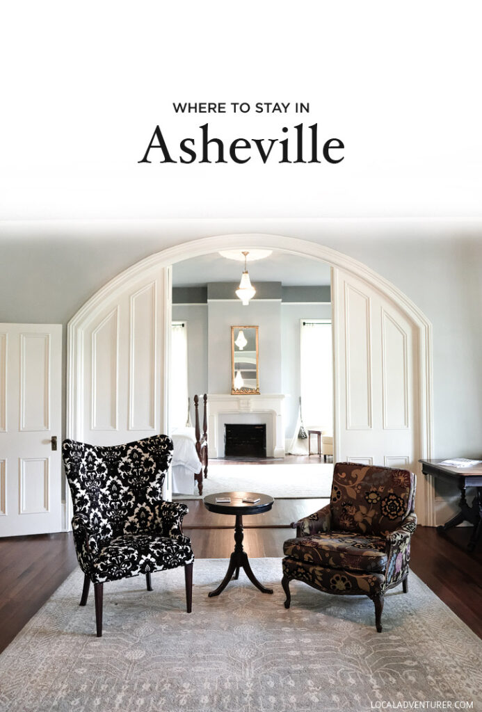 Where to Stay in Asheville North Carolina United States - from luxury to glamping and budget options // localadventurer.com