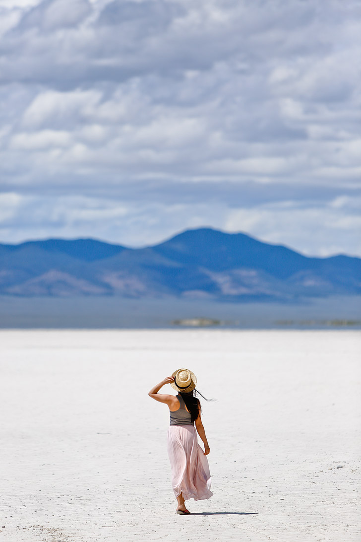 Salt Flats on the Loneliest Road in America / Highway 50 + Best Things do See in Nevada // localadventurer.com