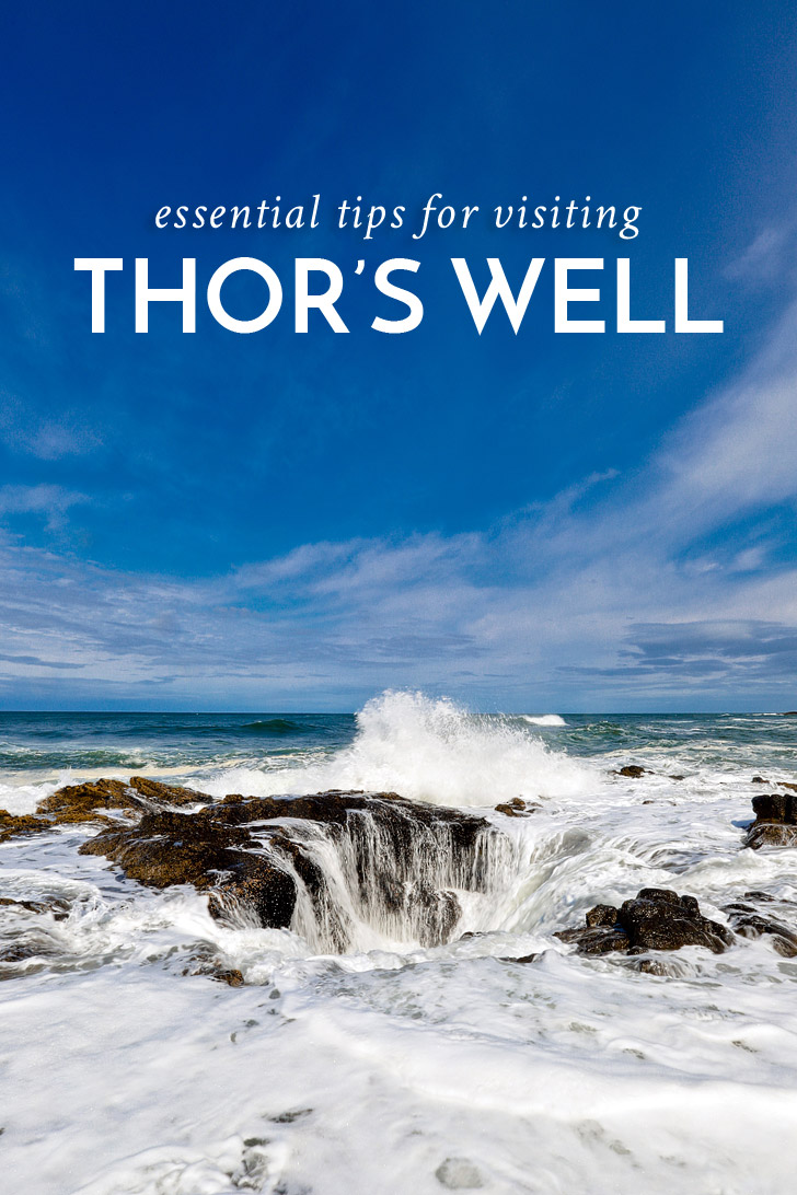 Cape Perpetua Thors Well - Tips for Your Visit // localadventurer.com