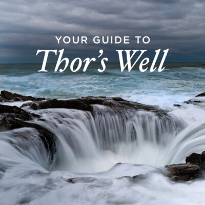Your Guide to Thor's Well Cape Perpetua Scenic Area Oregon Coast - Tips for Your Visit // localadventurer.com