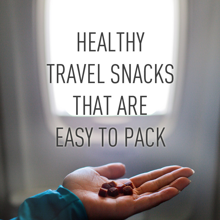 Healthy Travel Snacks That Are Easy to Pack
