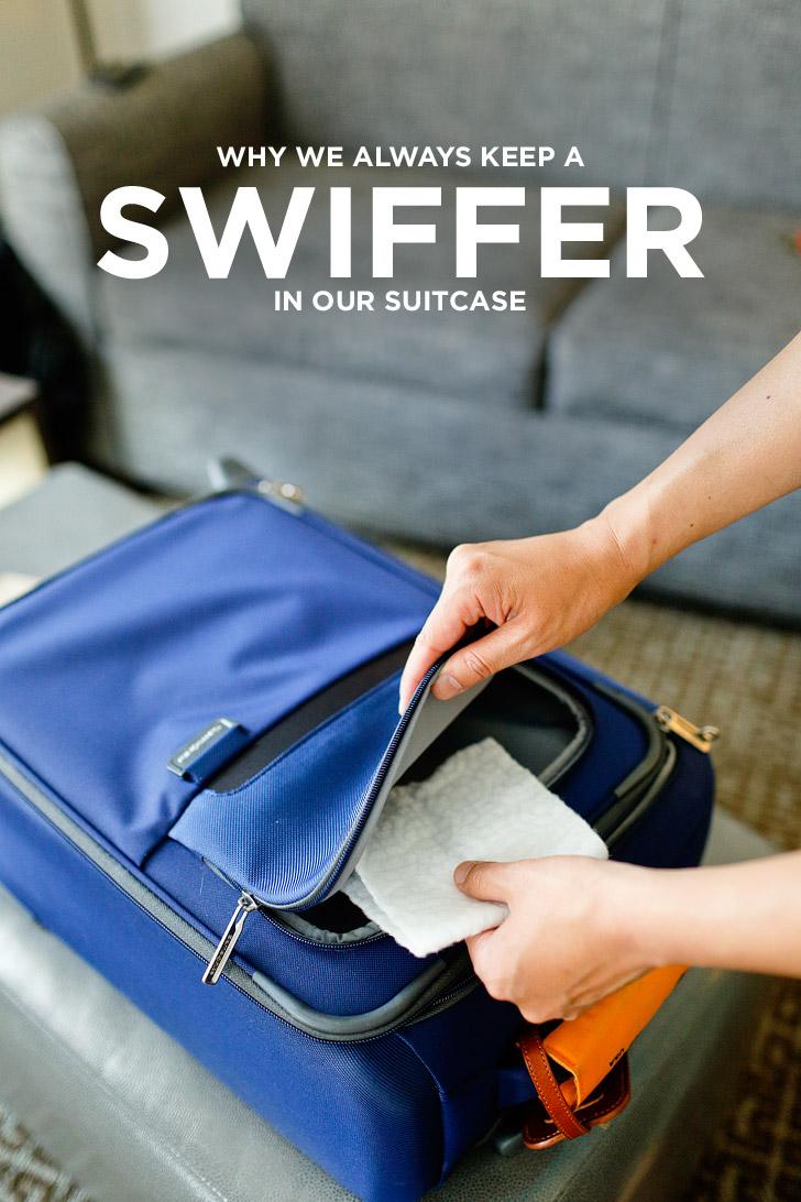 Why We Always Pack a Swiffer When We Travel // localadventurer.com