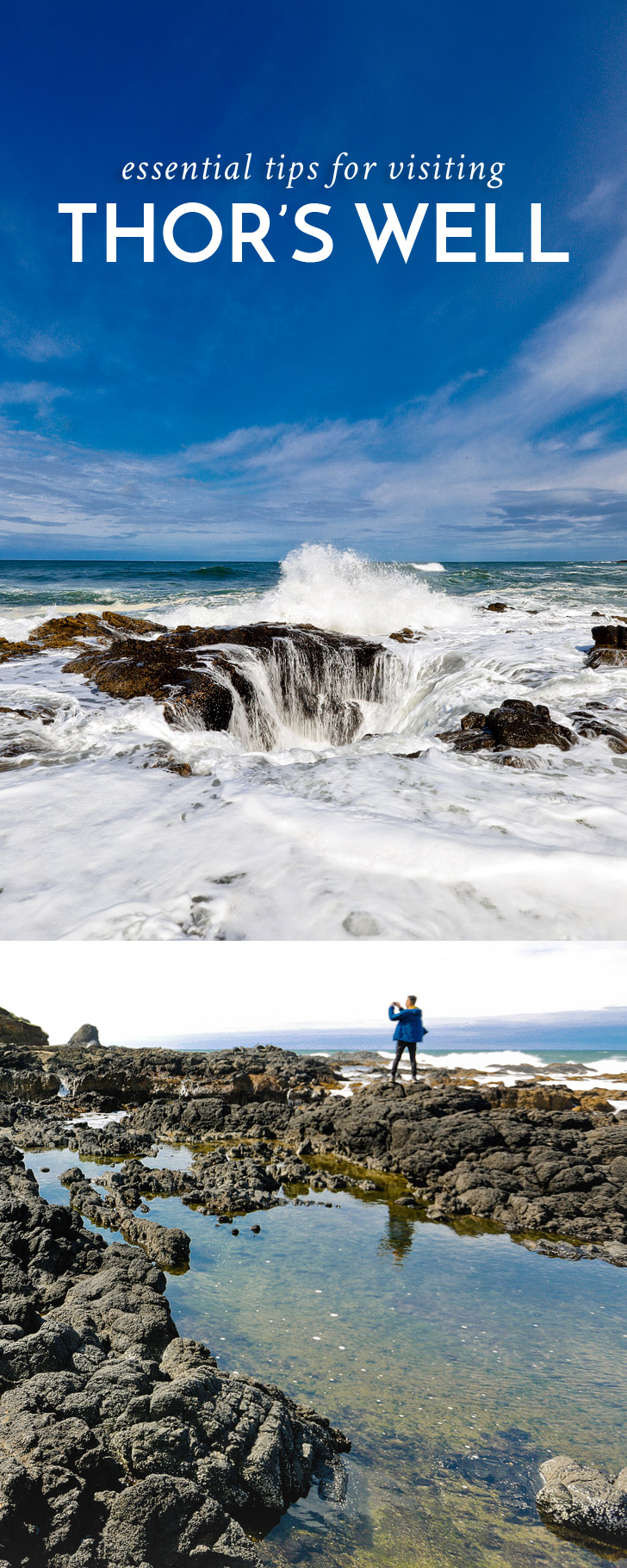 Essential Tips for Visiting Thors Well Cape Perpetua Scenic Area Oregon Coast // localadventurer.com