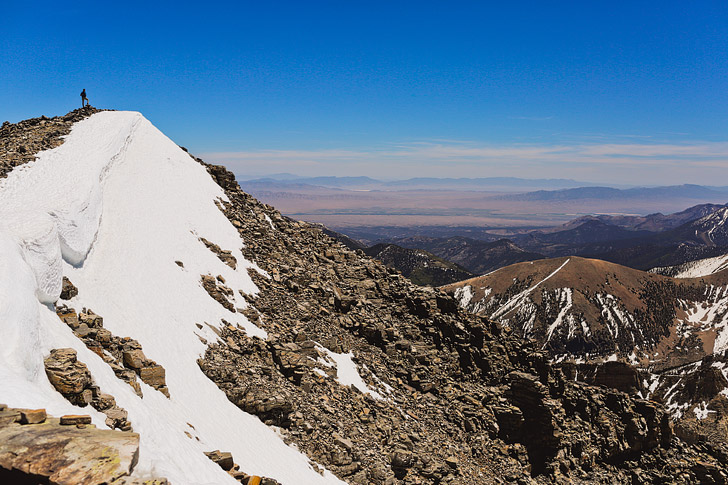 Wheeler Peak Summit Hike at Great Basin National Park - second tallest peak in Nevada // localadventurer.com