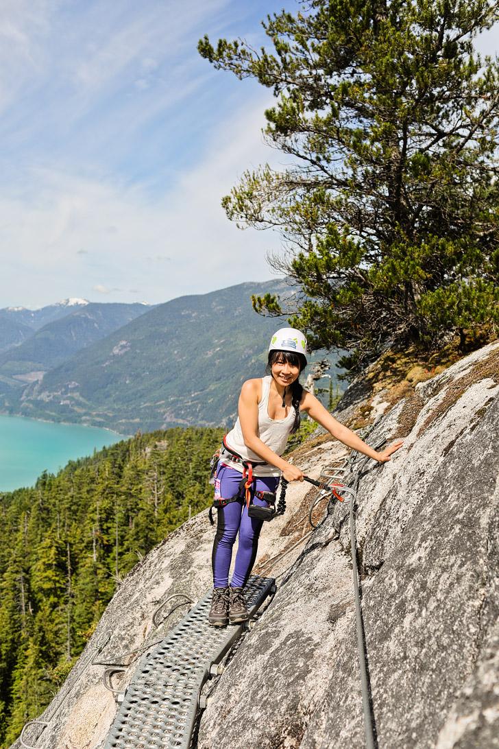 Squamish Via Ferrata + Essential Weekend Guide on What to Do in Squamish BC // localadventurer.com