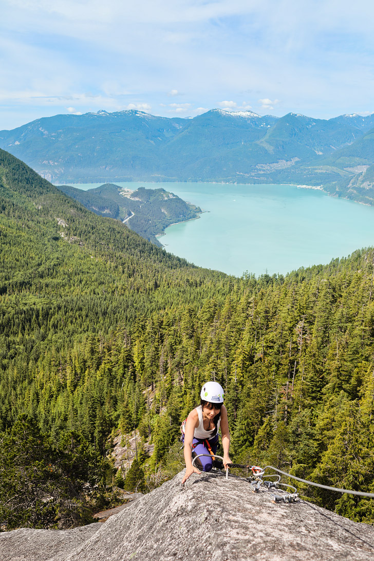 Squamish Via Ferrata + Tips for First Timers // localadventurer.com