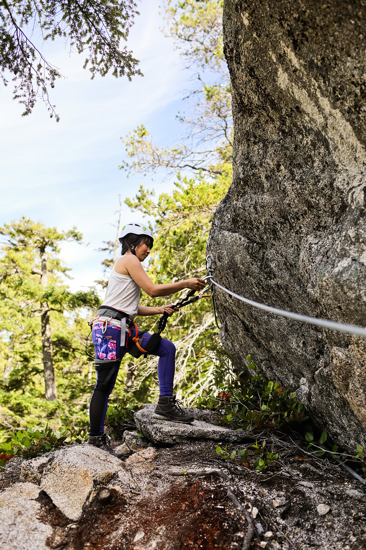 Squamish Via Ferrata British Columbia + Via Ferrata Tips for Beginners // localadventurer.com