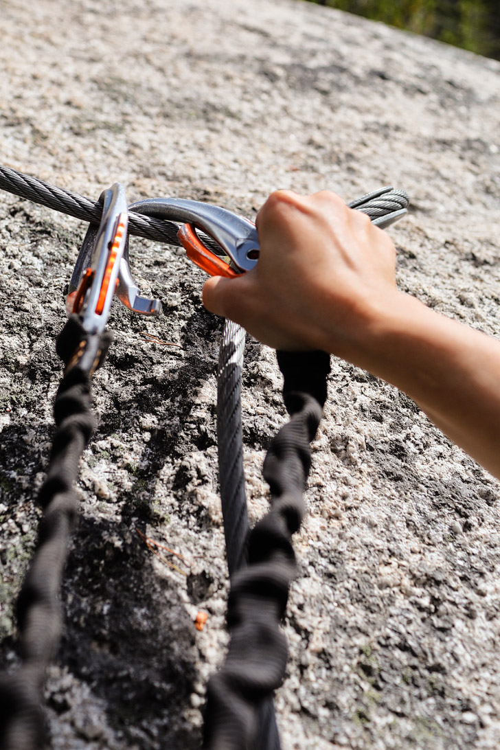 Via Ferrata Squamish British Columbia + Via Ferrata Tips for Beginners // localadventurer.com