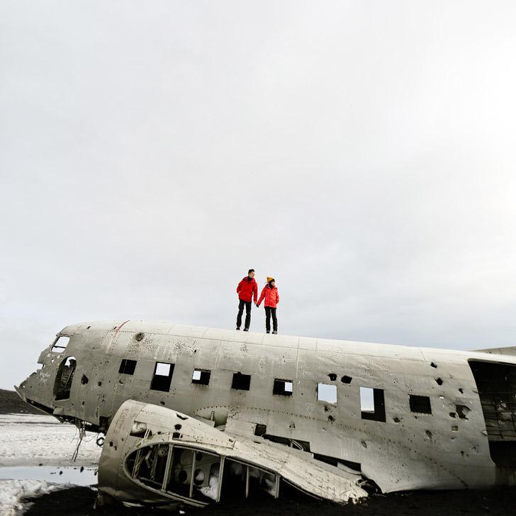 DC3 Plane Crash Iceland // localadventurer.com