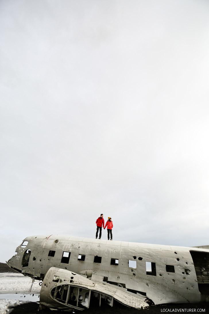 DC3 Plane Wreck Iceland // localadventurer.com