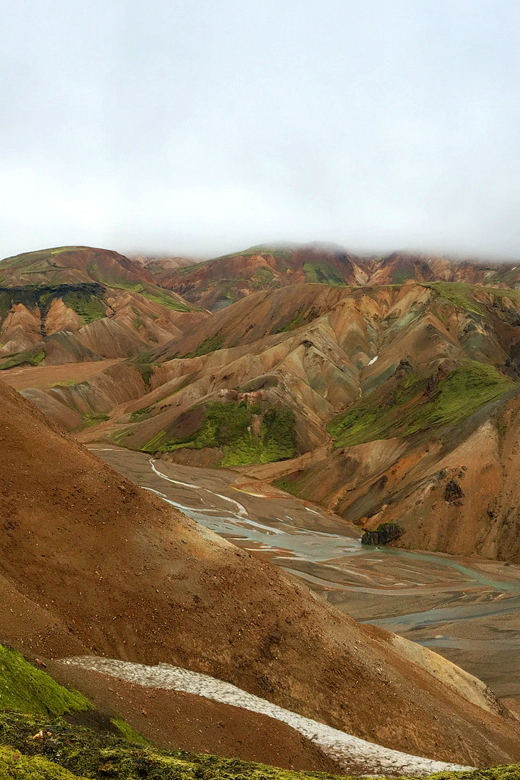 Landmannalauger Mountains Iceland + 9 Reasons Why Oregon is the Iceland of America (photo: Brandon Daniel) // localadventurer.com