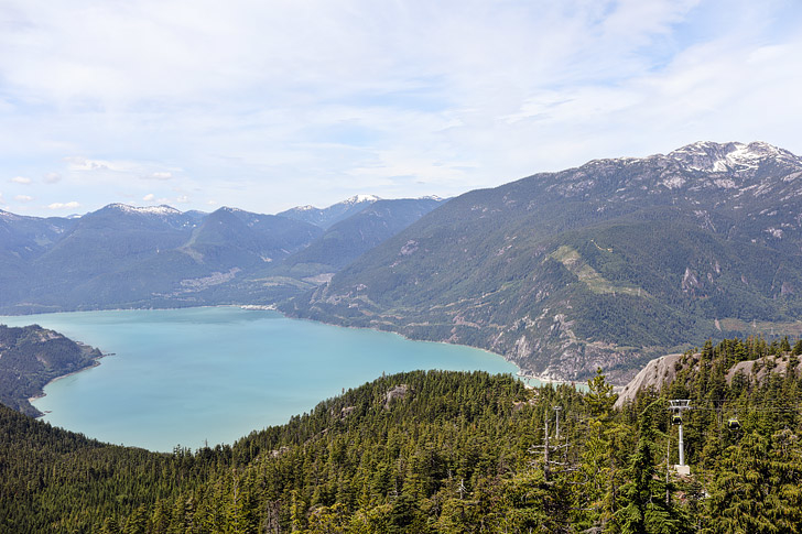 Views from the Squamish Via Ferrata BC // localadventurer.com
